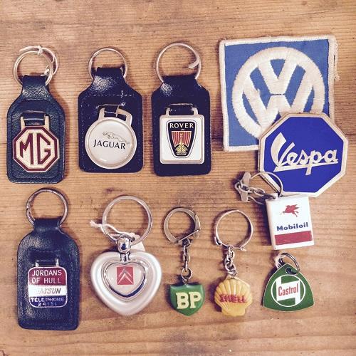 1950~80's Key rings