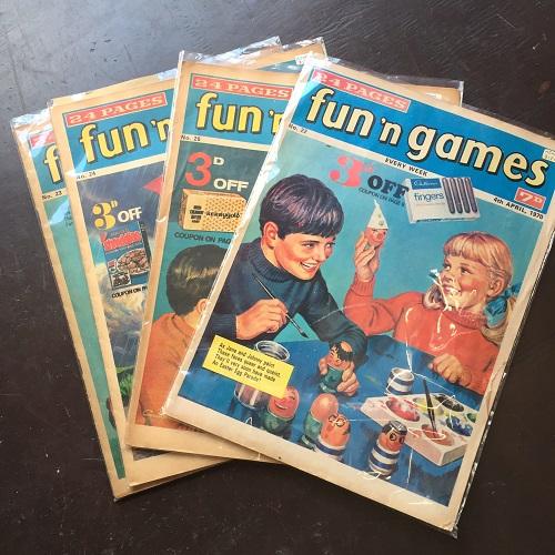 fun games magazine